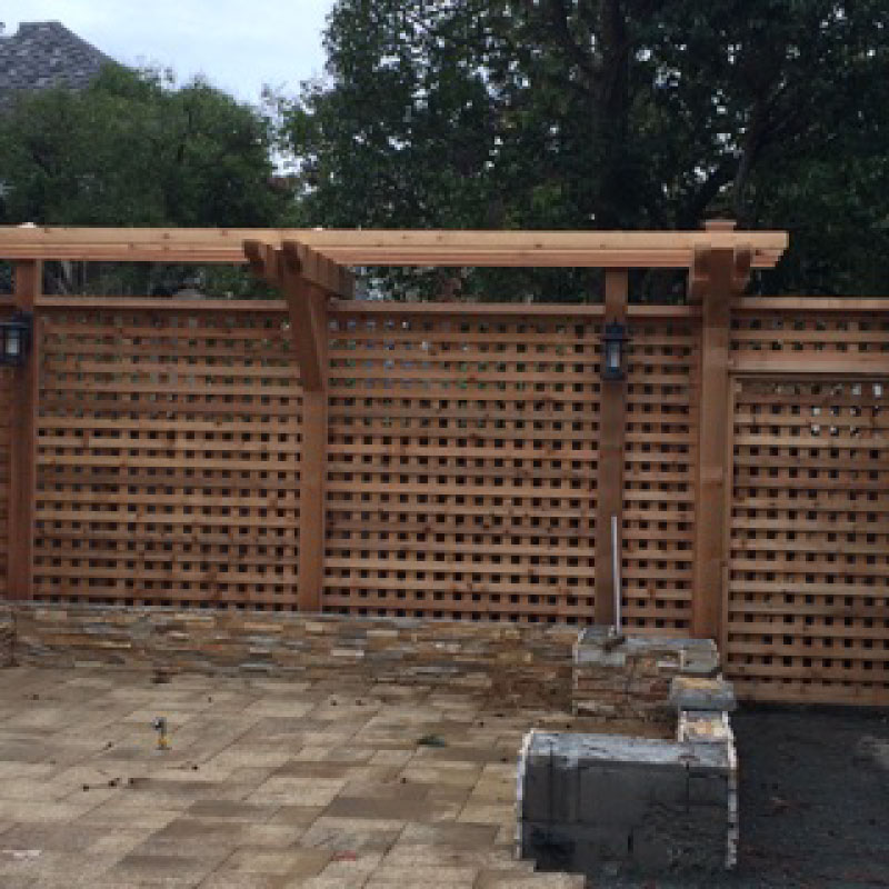 Tier Fencing Inc Trellis