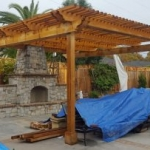 Tier Fencing Inc - Pergola Patio Covering