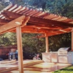 Tier Fencing Inc - Pergola Outdoor Woodwork