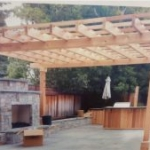 Tier Fencing Inc - Pergola Outdoor Patio