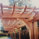 Tier Fencing Inc - Pergola Walkway Shade