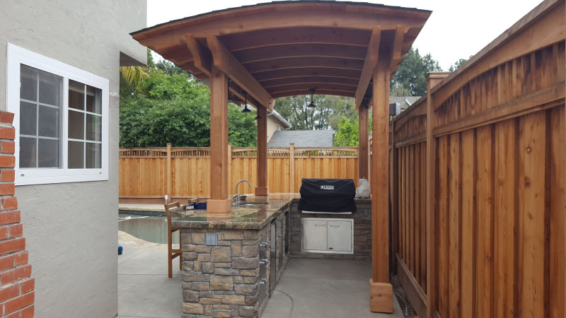 Tier Fencing Inc - Pergola Outdoor Area Trellis Cover