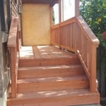 Tier Fencing Inc - Deck with Stairs