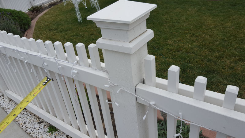 Tier Fencing - Post Cap