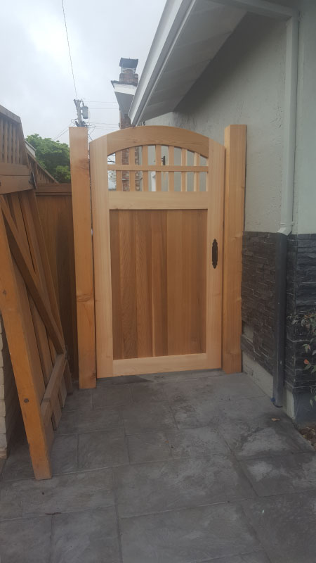Tier Fencing Inc - Wooden Gate